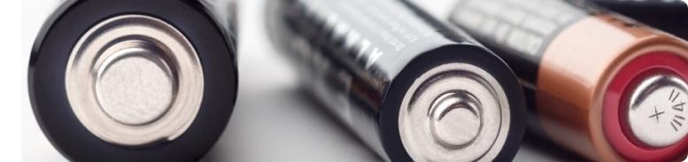 alkaline cylindrical batteries